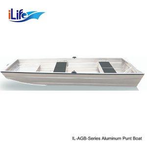 IL-AGB-Series Aluminum Punt Boat 1