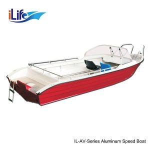 IL-AV-Series Aluminum Speed Boat 1